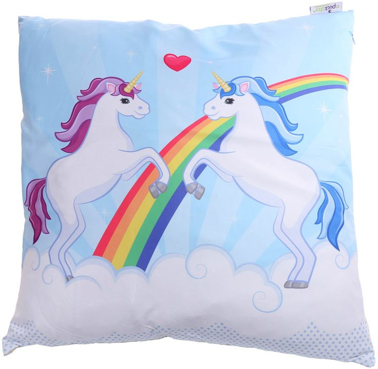 Cojín Unicornios #kawaii #unicorn #rainbow #arcoirís #cushion #xtremonline