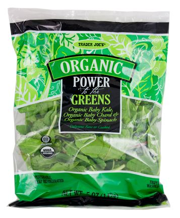 Trader Joe's Organic Power to the Greens 5oz/142g  $1.99 トレーダージョーズ オーガニック パワー トゥ グリーン