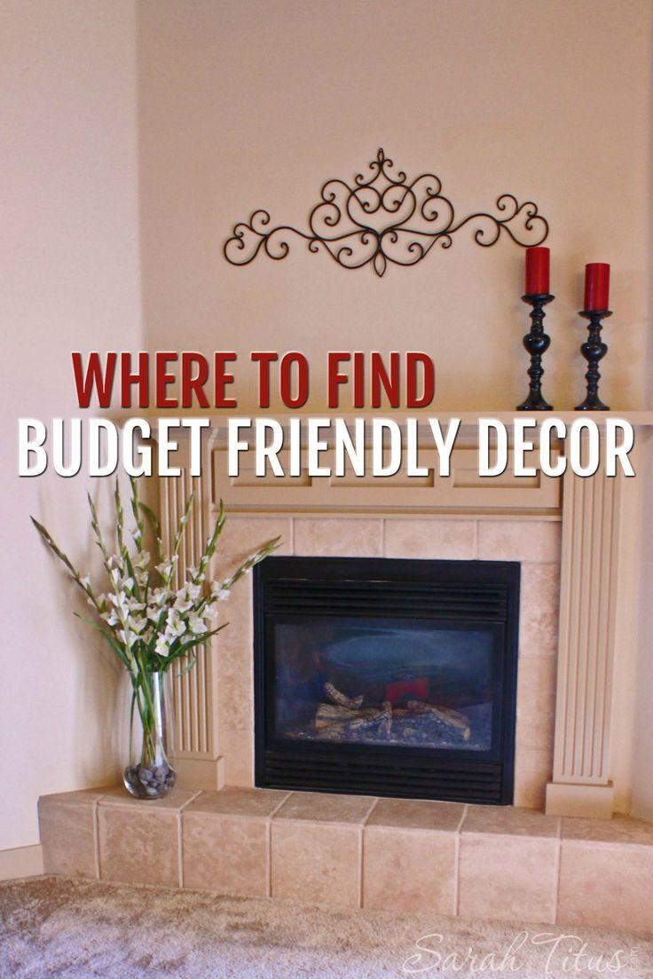 270 best Budget Friendly Home Decor images on Pinterest Budget