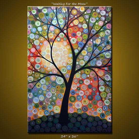Amy Giacomelli Original Large Abstract Painting por AmyGiacomelli