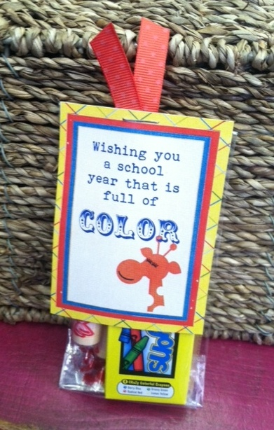 Full of Color | great for back to school gift.