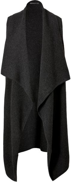 ~ Living a Beautiful Life ~ Cashmere Cape in Charco Donna Karan New York