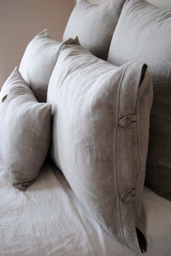 Queen Size ShamPearl Linen Bedding Collection by RubyandStellaHome, $35.00