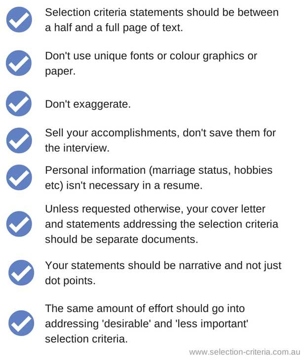 36 best Selection Criteria images on Pinterest Government jobs - government job resume