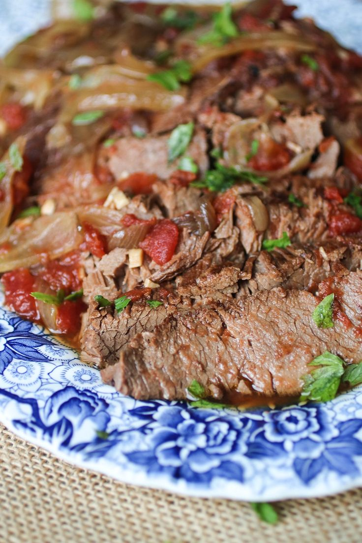 Paleo Slow Cooker Brisket Recipe made in an Instant Pot