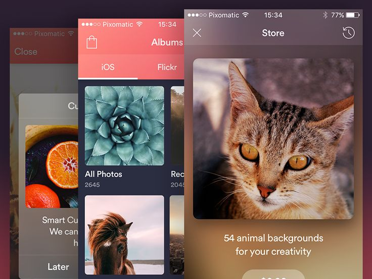 Pixomatic New Features by Alexander Zaytsev #Design Popular #Dribbble #shots