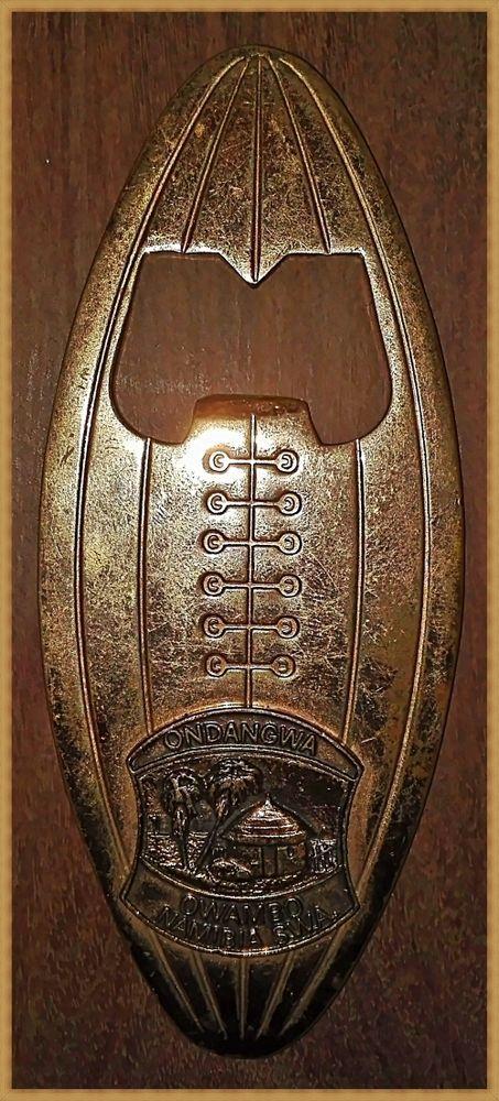 Vintage, Copper Plated, Bottle Opener. Ondangwa, Owambo, Namibia, SWA