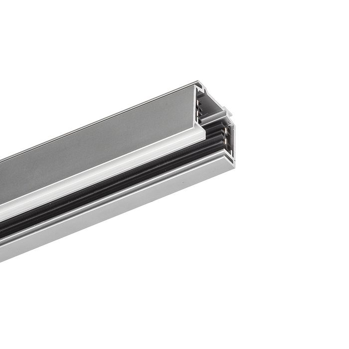 EUTRAC TRACK | rendl light studio | EUTRAC 3-circuit track. The profiles can easily be cut into desired lengths, with no need to cut or bend any wires. The track is supplied with pre-drilled holes for easier mounting. #lighting #systems #modern