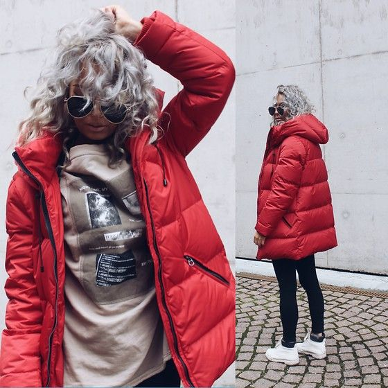 Get this look: http://lb.nu/look/8472259  More looks by Eeva K.: http://lb.nu/eevaroots  Items in this look:  Zara Red Padded Coat   #casual #edgy #street #zara #red #winter #fall #jacket #coat