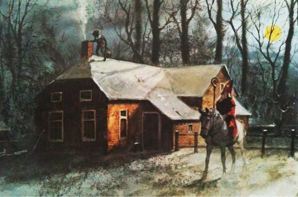 Rien Poortvliet, Sinterklaasavond
