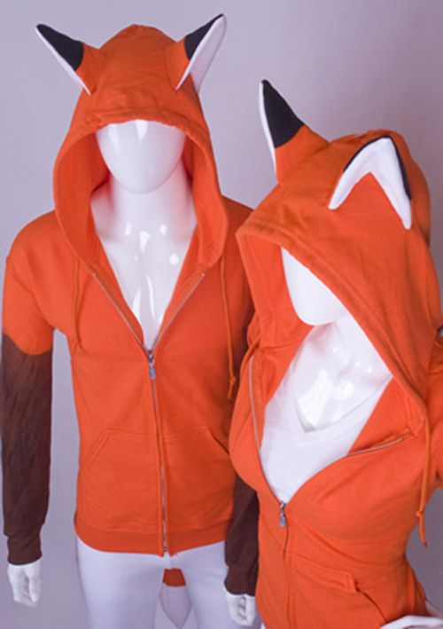Geek Fashion: Totally Rad Hoodies | GeekNation. If this was in white I could totally do a cool spin off of Yoko Kurama.