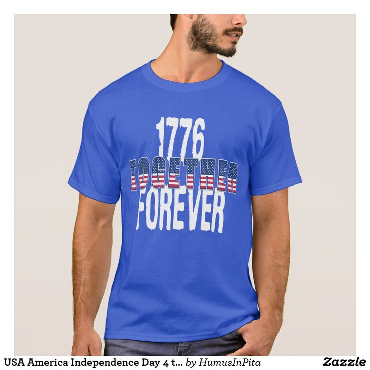 USA America Independence Day 4 th  July Patriotic T-Shirt