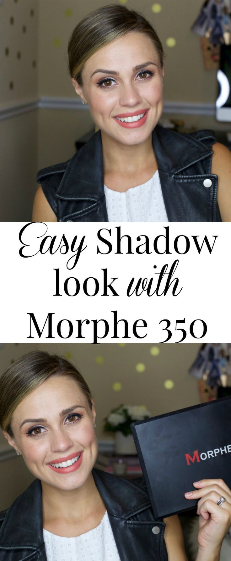 Easy Shadow look | Morphe 350 Easy shadow look | Get Ready with me | Uptown with…