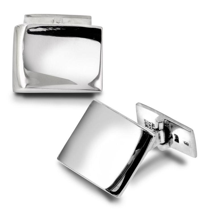 Klassiske mansjettknapper i sølv - Gullfunn