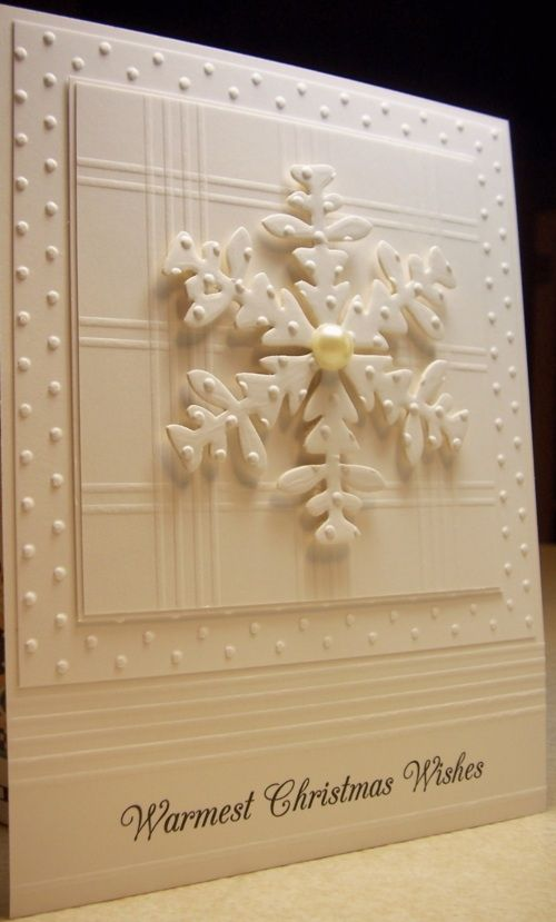 Embossing Folder Swiss Dots and Ice Crystal Folder/Die Combo