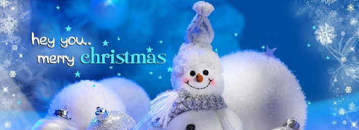 Hey you Merry Christmas Facebook Covers