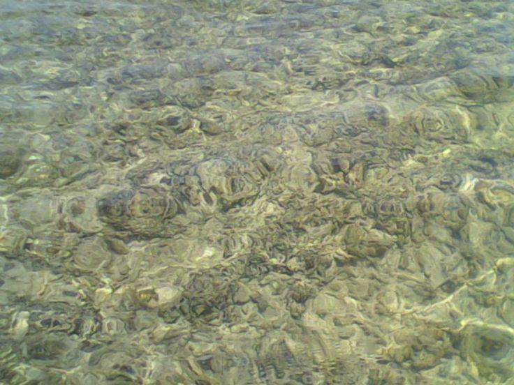 Clear water, Angso Duo Island, Pariaman, West Sumatra