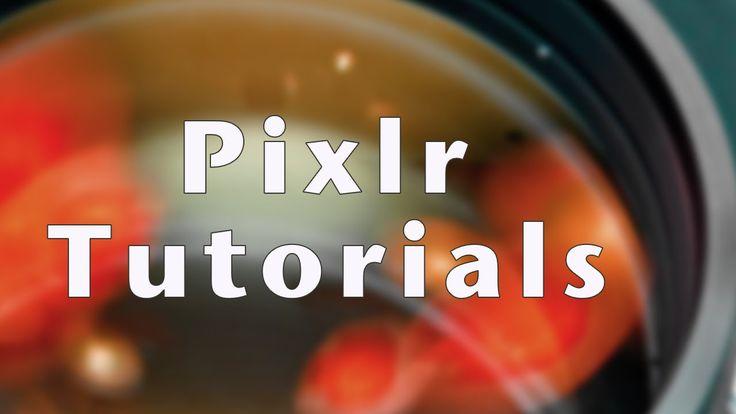 Pixlr Tutorial 3 - Layers, Desaturate, Burn, Dodge, Sponge, and Color Re...