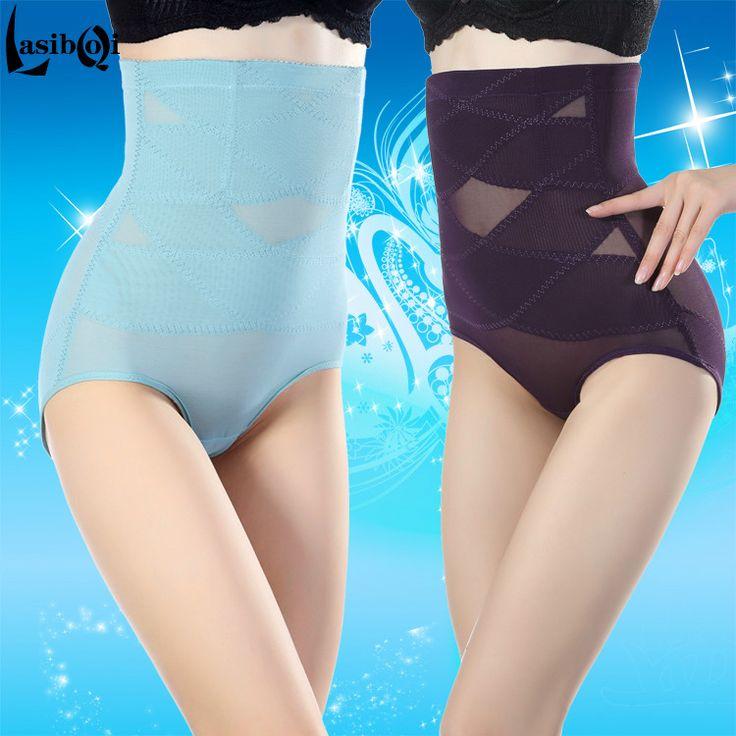 High waist abdomen panties drawing postpartum abdomen pants drawing female body shaping pant butt-lifting belts waist slimming