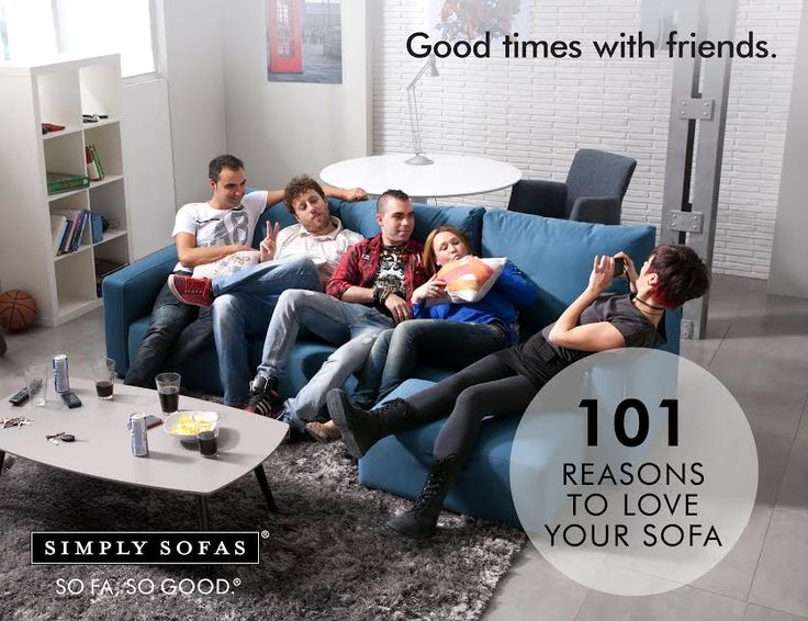 Any day and any time is a good time when you are on your sofa, and especially with friends. Product: Fama MyLoft #sofas #couches #simplysofas #sofasogood #furniture #topbrands #fama #fabricsofas #luxurysofas #luxuryliving #glamour #popularbrands Visit: http://www.simplysofas.in/