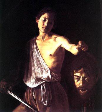 CARAVAGGIO - davide con la testa di golia - 1609 - ROMA, Galleria Borghese