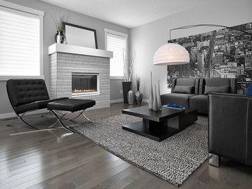 smoky grey essential hard maple essential lauzon hardwood flooring - Grey Wood Floors