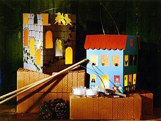 """Fabrique toi-même une lanterne pour la Saint-Martin ! Voici la """"Martinslaternenhaus"""""""