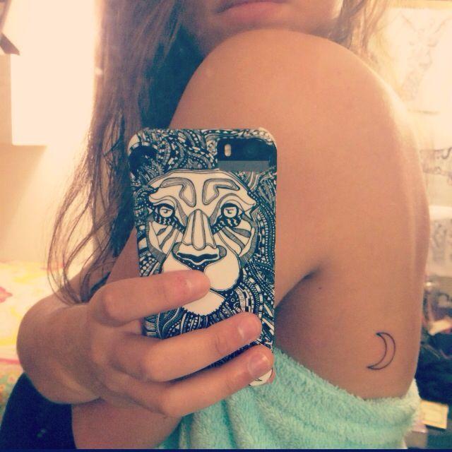 Moon Tattoo Small Moon Tattoos Small Tattoos Moon Tattoo