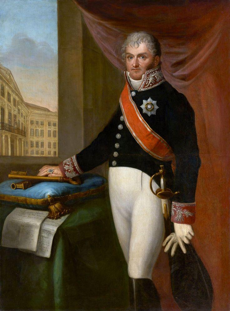 Portrait of Karol Fryderyk Woyda, President of Warsaw by Jan Gładysz, 1819 (PD-art/old), Muzeum Warszawy