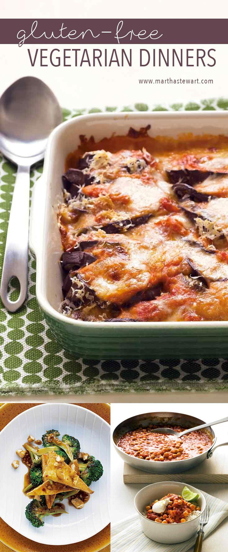 Gluten-Free Vegetarian Dinners | Martha Stewart Living
