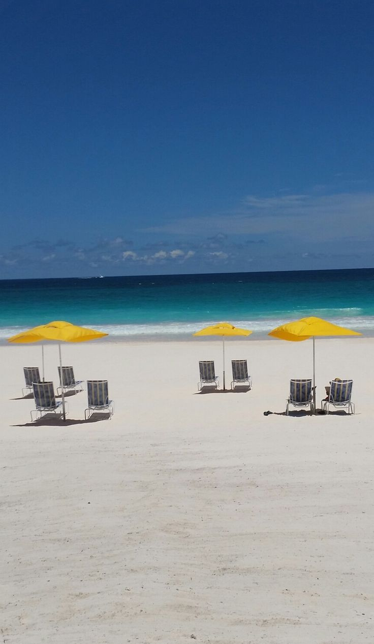 Private beach area on Harbour Island just for Valentine's guests! Come to the Bahamas....