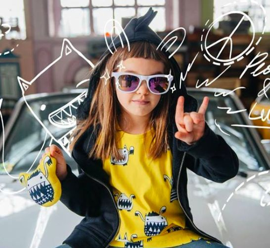 Vesna - our super model :) Rebel but cute!