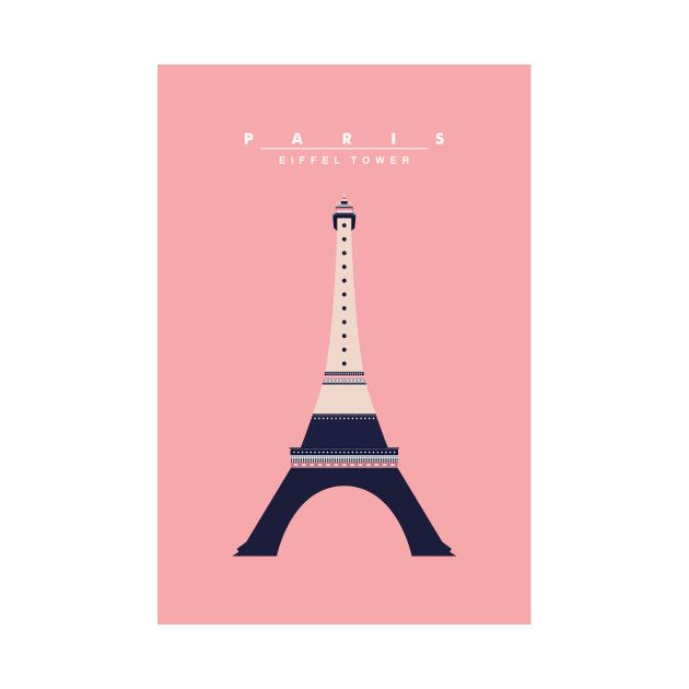 Check out this awesome 'Eiffel+Tower+wall+art' design on @TeePublic!