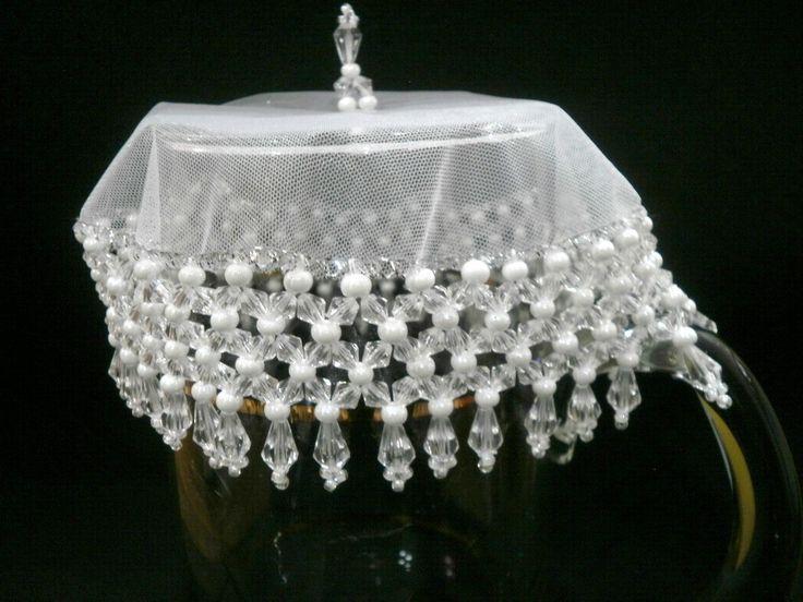 Kit branco = cobre jarra + 6 cobre taças   Joias da Casa   Elo7