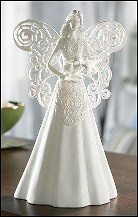 Angel of Peace Figurine Resin