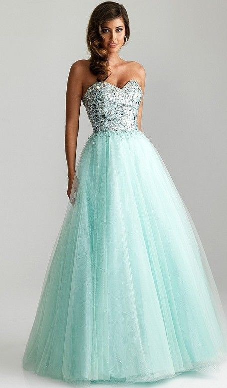 this truly is a princess dress but needs to be a tad shorter so that we can be able to see the shoes.