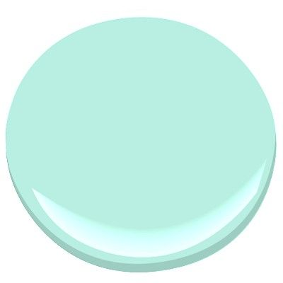 florida aqua 2042-60 Paint - Benjamin Moore florida aqua Paint Color Details
