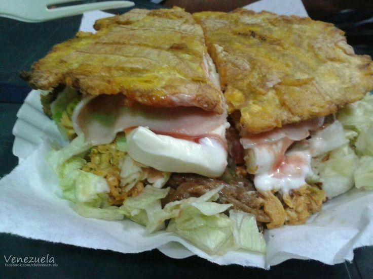 Patacon - plato tipico de la region Zuliana a base de ...