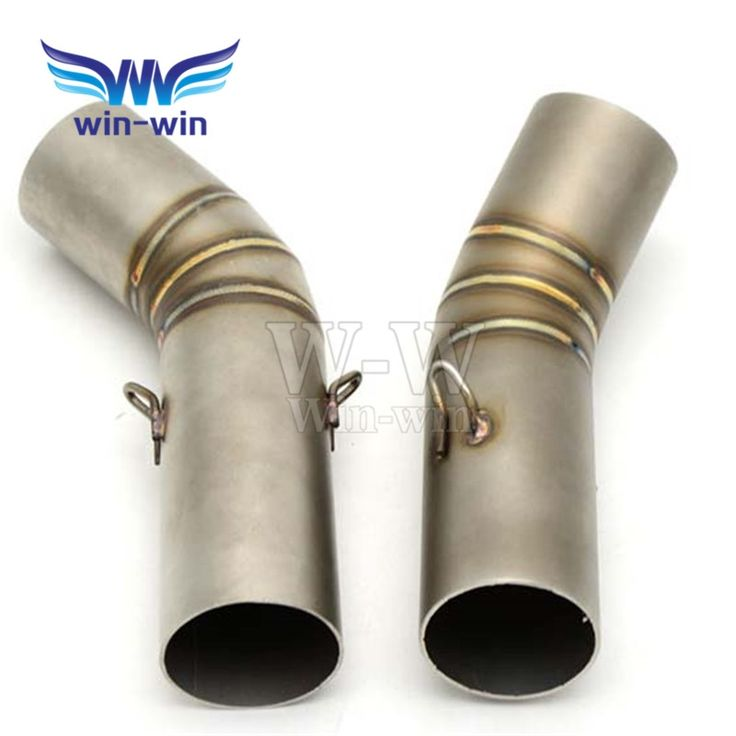 84.60$  Watch now - http://alifx5.worldwells.pw/go.php?t=32711512733 - Stainless Motorcycle Exhaust middle contact pipe modified exhaust middle pipe for ducati 848 84.60$