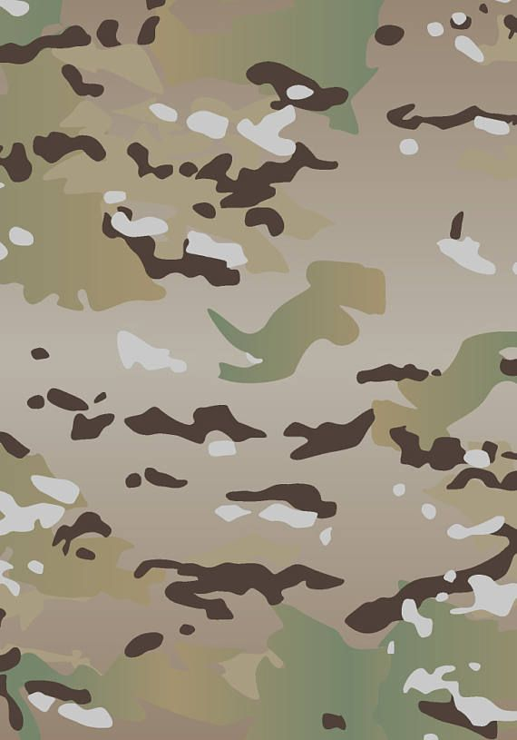 Original full-size Multicam (scorpion) camouflage pattern for print.  Legendary camo pattern in vector ready-to-print format. You can zoom it for any size without quality lose.  Handly created in Photoshop and Illustrator and tested for vector errors.  File format: .eps (can opened with any graphics software). File size: 842 Kb in zip archive Zip size: 377 Kb Bonus: converted file in high-quality .jpg, 4000x1612 px, RGB, 2,5 Mb.  You can use this pattern for personal reasons or small…