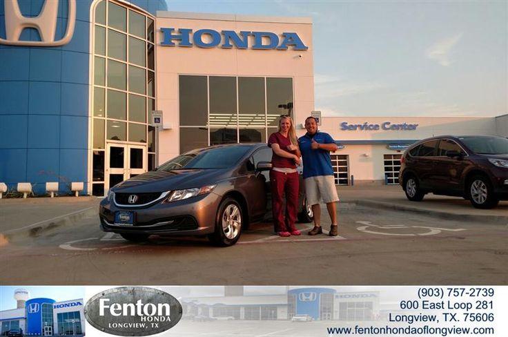 Congratulations Lindsey On Your Sedan From Steven Habibelahian At Fenton  Honda Of Longview!