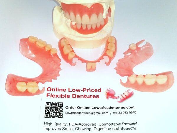 Order affordable dentures online today! Best cheap flexible