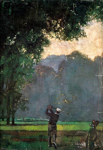 Ben Hogan... #golf #art