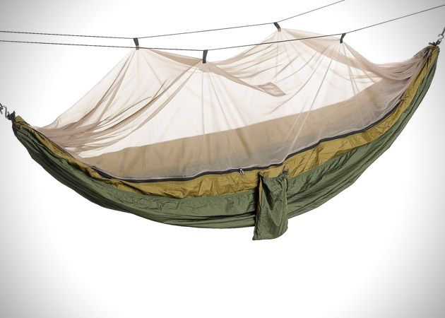 Skeeter Beeter Pro Suspended Tent Hammock... that would be an awesome way to camp