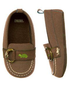 Pusat Online Shop Sepatu - Gymboree Turtle & Kelinci Crib Moccasin, Brown | Pusat Sepatu Bayi Terbesar dan Terlengkap Se indonesia