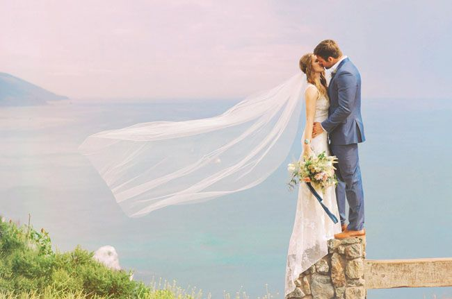 Intimate Bohemian Big Sur Wedding: Lisa + Ben   Green Wedding Shoes Wedding Blog   Wedding Trends for Stylish + Creative Brides