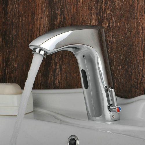 robinet de l'évier en laiton salle de bain avec capteur automatique (chaud et froid) http://www.robinetshop.com/robinet-de-l%C3%A9vier-en-laiton-salle-de-bain-avec-capteur-automatique-chaud-et-froid-p-557.html