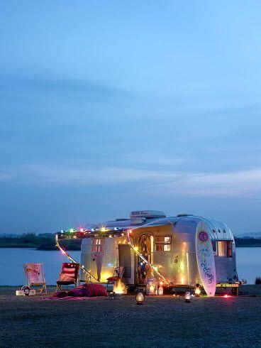 gypsy!: Airstream Perfect, Gypsy Living, Gypsy Caravan, Dream Homes, Dreams ゚ ゚ ゚ ゚, Ahhhh Perfect, Beach, Airstream Dreams, Gypsy Life