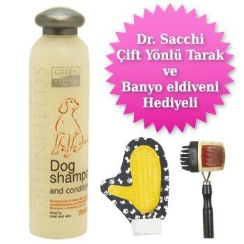 Green Fields Dog Shampoo and Conditioner Kremli Köpek Şampuanı 250 ml