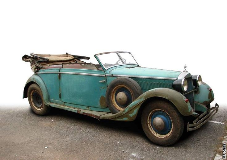 Historians after many years of searching and proving definitively identified Mercedes 320B, in which Heydrich seventy years ago met his assassins. The car was uncovered some time ago in a village barn near Hradec Králové (Czech Republik) by businessman Vladimir Macek, whose firm is dedicated to reconstruction of historic vehicles.